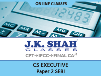 CS Executive Paper 6 SEBI Online Classes