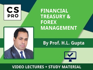 CS Professional FTFM Video Lectures by Prof HL Gupta (Online)