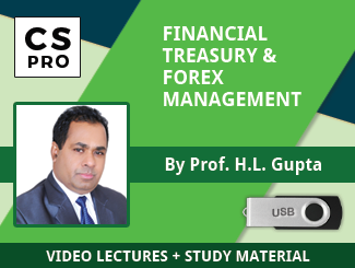 CS Professional FTFM Video Lectures by Prof HL Gupta
