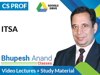 CS Professional ITSA Video Lectures by CA Bhupesh Anand (Download)