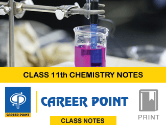 Class Notes For 11th Chemistry By Career Point