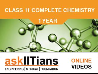 Complete Chemistry for JEE Main/Advanced 11th Class Online Video Lectures