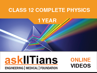 Complete Physics for JEE Main/Advanced 12th Class Online