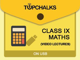 TopChalks Class IX (Maths) Video Lectures - On USB