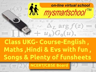 Class UKG CBSE/NCERT UG Pen Drive Course covering Engilsh,Maths