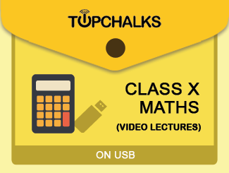 TopChalks Class X (Maths) Video Lectures - On USB