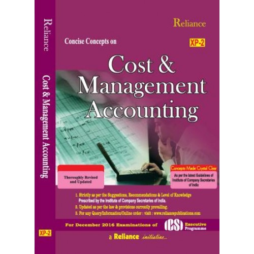 cost accounting study material This paper is based on a case study of a paper manufacturing company in  kwazulu-  keywords: material flow cost accounting (mfca), cleaner  production,.