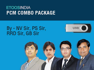 PCM Combo Package in USB by NV Sir, PS Sir, RRD Sir, GB Sir By ETOOS