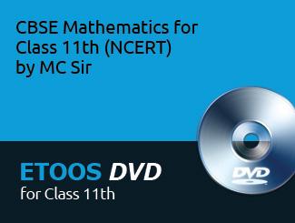 CBSE Mathematics for Class 11th (NCERT) by MC Sir (DVD