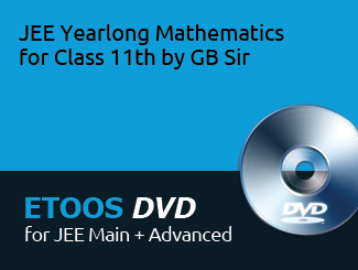 JEE Yearlong Mathematics for Class 11th by GB Sir (DVD) By Practice