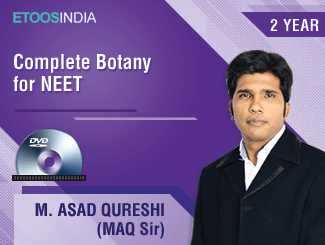 Complete Botany for NEET by MAQ Sir (DVD) 2 Years