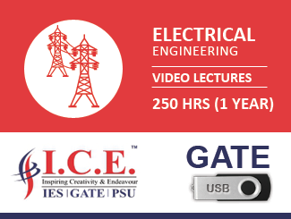 GATE Video Lectures for Electrical Engineering in USB (2018)