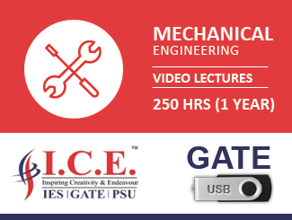 GATE Video Lectures for Mechanical Engineering in USB (2018)