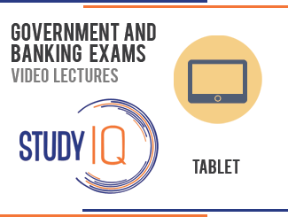 Banking & Government Exams Tablet Course by Study IQ By StudyIQ