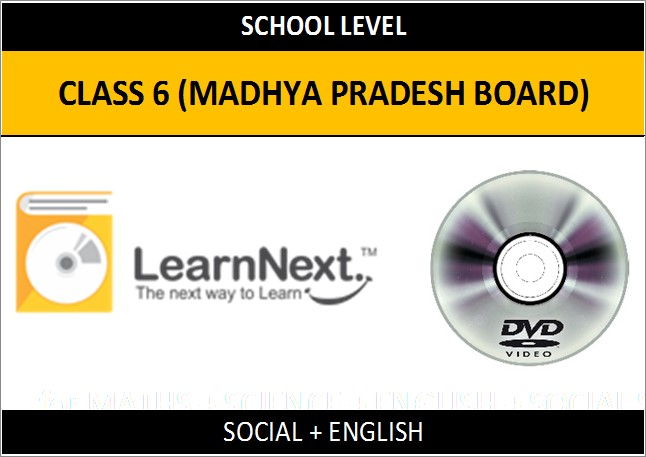 Learnnext Class 6 Social and English (Madhya Pradesh Board)