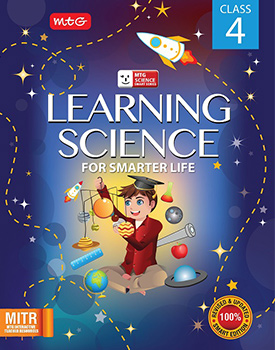 Learning Science for Smarter Life Class 4 Book by MTG Learning By