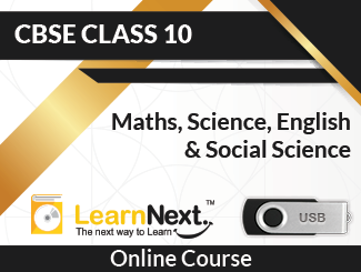 Learnnext CBSE Board Class 10 Maths, Science, English & Social Science Online Course in USB