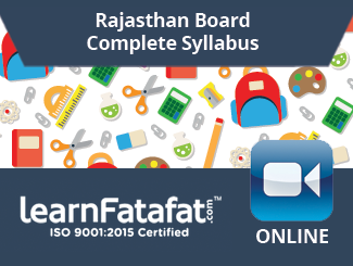 Rajasthan Board Complete Syllabus for Class 10 By LearnFatafat