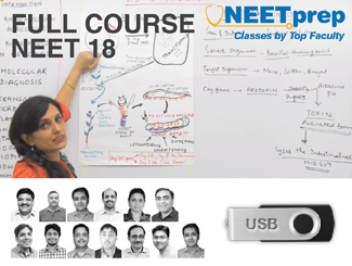 NEET 18 Video Lectures On USB -Full Course