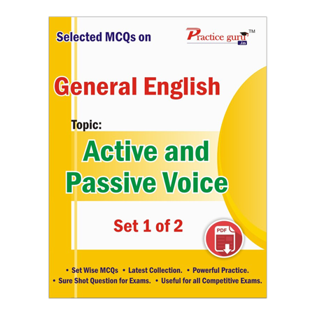 Selected MCQs on English - Active and Passive Voice Set 1 of 2